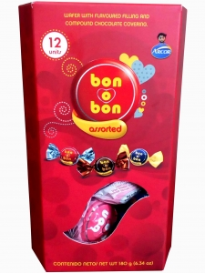 Arcor Bon O Bon Assorted 12 Units 180g.