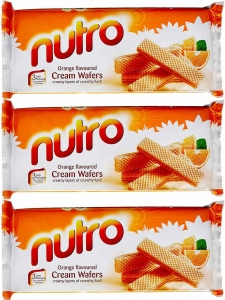 Nutro Orange flavoured Cream Wafers 150g. Combo Pack