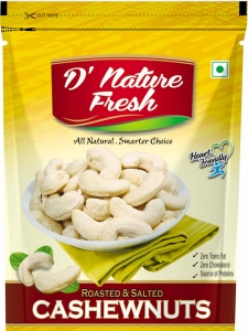 Roasted & Salted Cashewnuts (D' Nature, Delhi)