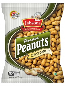 Roasted Peanut Chilly Garlic (Jabsons, Bharuch)
