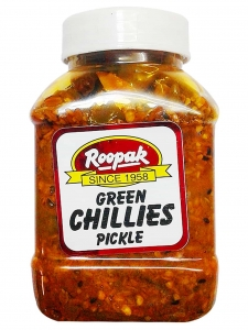 Green Chillies Pickle (Roopak, Delhi)