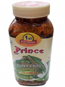 Green Chilli Pickle ( Prince  Pickles, Chandni Chowk )